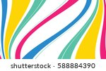 abstract color waves background | Shutterstock .eps vector #588884390