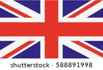 uk flag | Shutterstock .eps vector #588891998