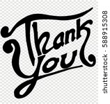 thank you  quotes  sketch   Shutterstock .eps vector #588915308