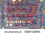 container container ship in...   Shutterstock . vector #588918896
