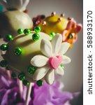cake pops  | Shutterstock . vector #588933170
