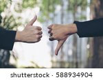 beauty business partnership... | Shutterstock . vector #588934904