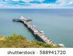 Llandudno Pier In Wales In A...