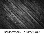 old wooden background. black... | Shutterstock . vector #588993500