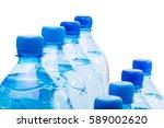 plastic bottle of water | Shutterstock . vector #589002620