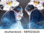 surgery  healthcare  medicine...   Shutterstock . vector #589023620