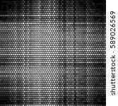 grunge halftone dots texture... | Shutterstock . vector #589026569