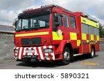 Red British Fire Engine...