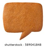 Gingerbread Speech Bubble...