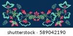 original  colorful  designer ... | Shutterstock . vector #589042190