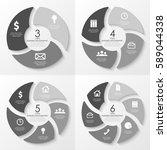 vector round infographics....   Shutterstock .eps vector #589044338