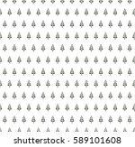 minimal leaf pattern. vector... | Shutterstock .eps vector #589101608