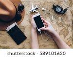 preparation for traveling...   Shutterstock . vector #589101620