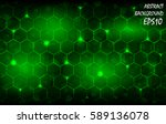 abstract background with green... | Shutterstock .eps vector #589136078