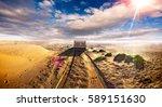 caravan lifestyle road and... | Shutterstock . vector #589151630