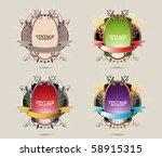 eps10 vector layout | Shutterstock .eps vector #58915315