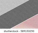 oblique  diagonal lines pattern. | Shutterstock .eps vector #589153250