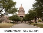 texas state capitol building | Shutterstock . vector #589168484