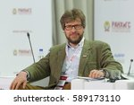 Small photo of MOSCOW, RUSSIA - JAN 13, 2017: Fyodor Lukyanov, Academic Director, Foundation for Development and Support of the Valdai Discussion Club at the Gaidar Forum 2017