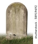 Single Grave Stone Cut Out