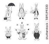 vector graphic quality set of... | Shutterstock .eps vector #589199330