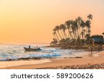 koggala  sri lanka   january 20 ... | Shutterstock . vector #589200626