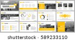 elements of infographics for... | Shutterstock .eps vector #589233110