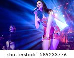 sophie ellis bextor performs at ... | Shutterstock . vector #589233776