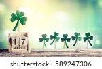 Saint patrick day   calendar...
