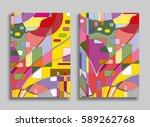 abstract composition geometric...
