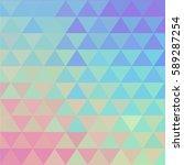 vibrant hologram vector...   Shutterstock .eps vector #589287254