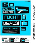 Last Minute Flight Deals Poster