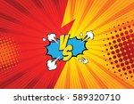 fight backgrounds comics style... | Shutterstock .eps vector #589320710
