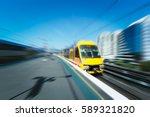 sydney city of the train... | Shutterstock . vector #589321820