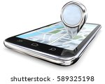 search and find. smartphone... | Shutterstock . vector #589325198