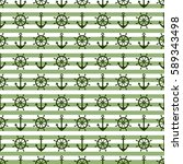vector seamless pattern with... | Shutterstock .eps vector #589343498