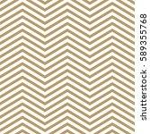 elegant beige and white chevron ... | Shutterstock .eps vector #589355768