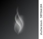 Smoke Vector Illustration On...