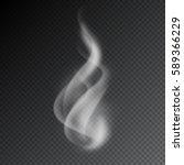 smoke vector illustration on... | Shutterstock .eps vector #589366229