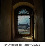view to baghdad and tigris... | Shutterstock . vector #589406339