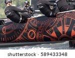 gmunden  austria   may 28. 2015 ... | Shutterstock . vector #589433348