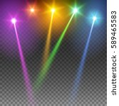 special light effects.... | Shutterstock .eps vector #589465583