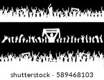 backgrounds from the crowd | Shutterstock .eps vector #589468103