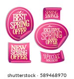 new  best  exclusive spring... | Shutterstock .eps vector #589468970