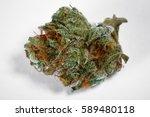 close up of medical marijuana... | Shutterstock . vector #589480118