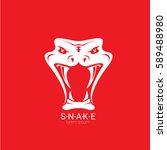 vector snake logo template....   Shutterstock .eps vector #589488980