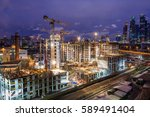 moscow  russia   25 february... | Shutterstock . vector #589491404