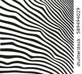 black and white striped lines....   Shutterstock .eps vector #589494029