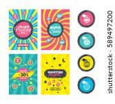 sale website banner templates....   Shutterstock . vector #589497200