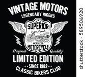 california vintage motors ...   Shutterstock .eps vector #589506920